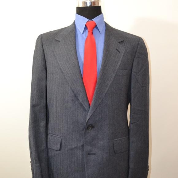 Izod Other - Izod 41L Sport Coat Blazer Suit Jacket Dark Blue H
